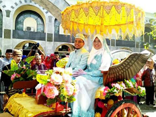 Walikota Padang H.Mahyeldi Ansharullah Baralek Baminantu