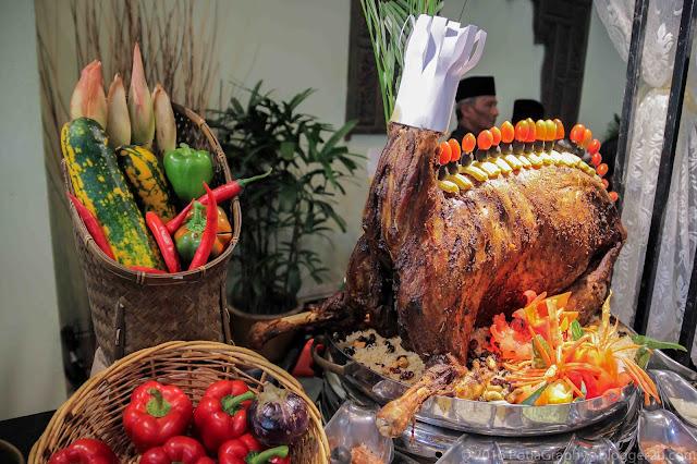 Buffet ramadan Kambing Bakar