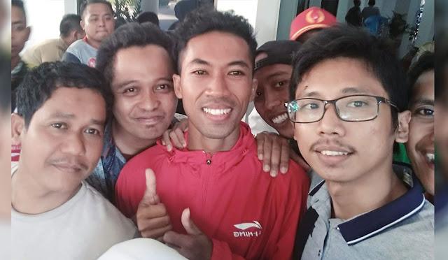 Saful Rijal, atlet sepak takraw asal Lumajang