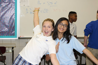 """Montgomery Catholic Hosts """"A Day in the Life"""" in Middle School 2"""