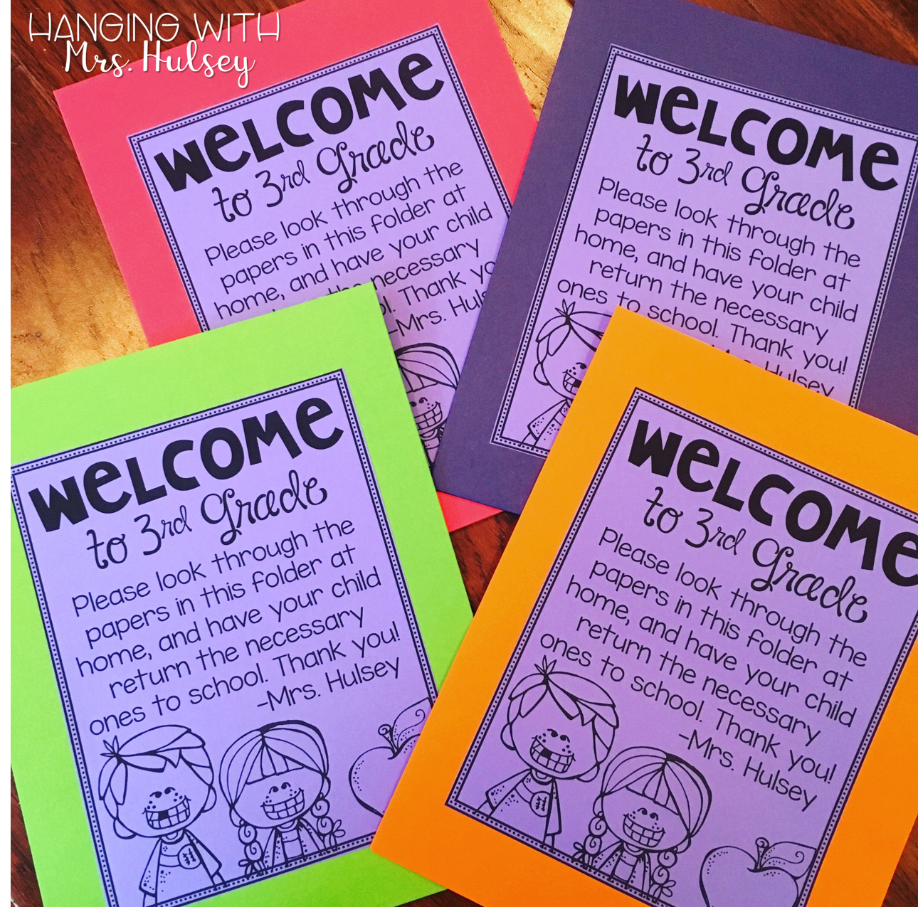 graphic about Welcome to Our Open House Printable known as Satisfy the Instructor Night time (Manufactured Very simple) - Putting with Mrs. Hulsey