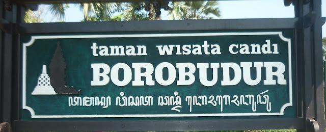 Plakat Candi Borobudur
