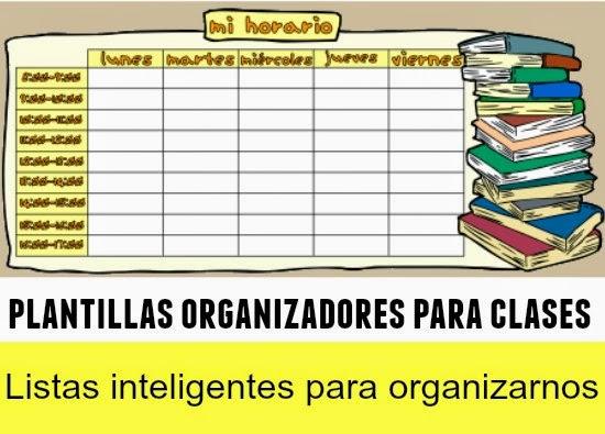 Plantillas de Calendarios, Certificados, Planificadores, Organizadores y Listas Inteligentes