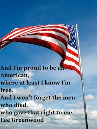 Happy Memorial Day 2016: and i'm proud  to be an american, where at least i know i'm free, and i won't forget the men who died,