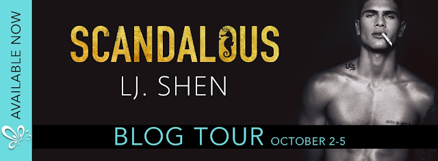 [Blog Tour] SCANDALOUS by LJ Shen @lj_shen @jennw23 #UBReview