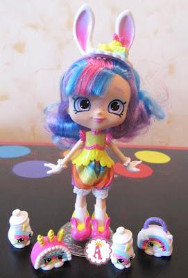 Кукла Шоппис и эксклюзивные радужные Шопкинсы