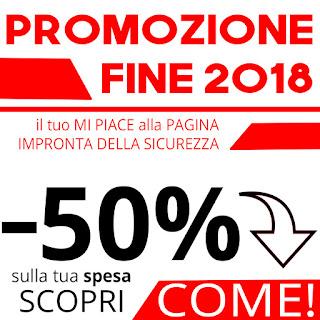 PROMOZIONE FINE 2018