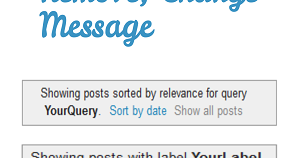 Remove, Change Showing Posts With Label in Blogger - Howbloggerz