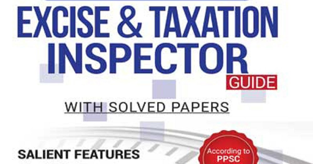 Excise And Taxation Inspectors Doger Publishers PDF Guide