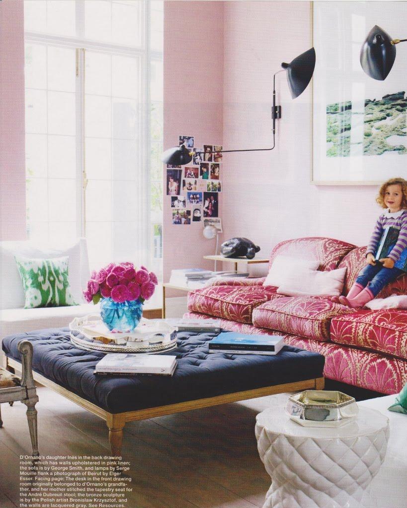 ides de couleur de mur pour un salon noir/aubergine