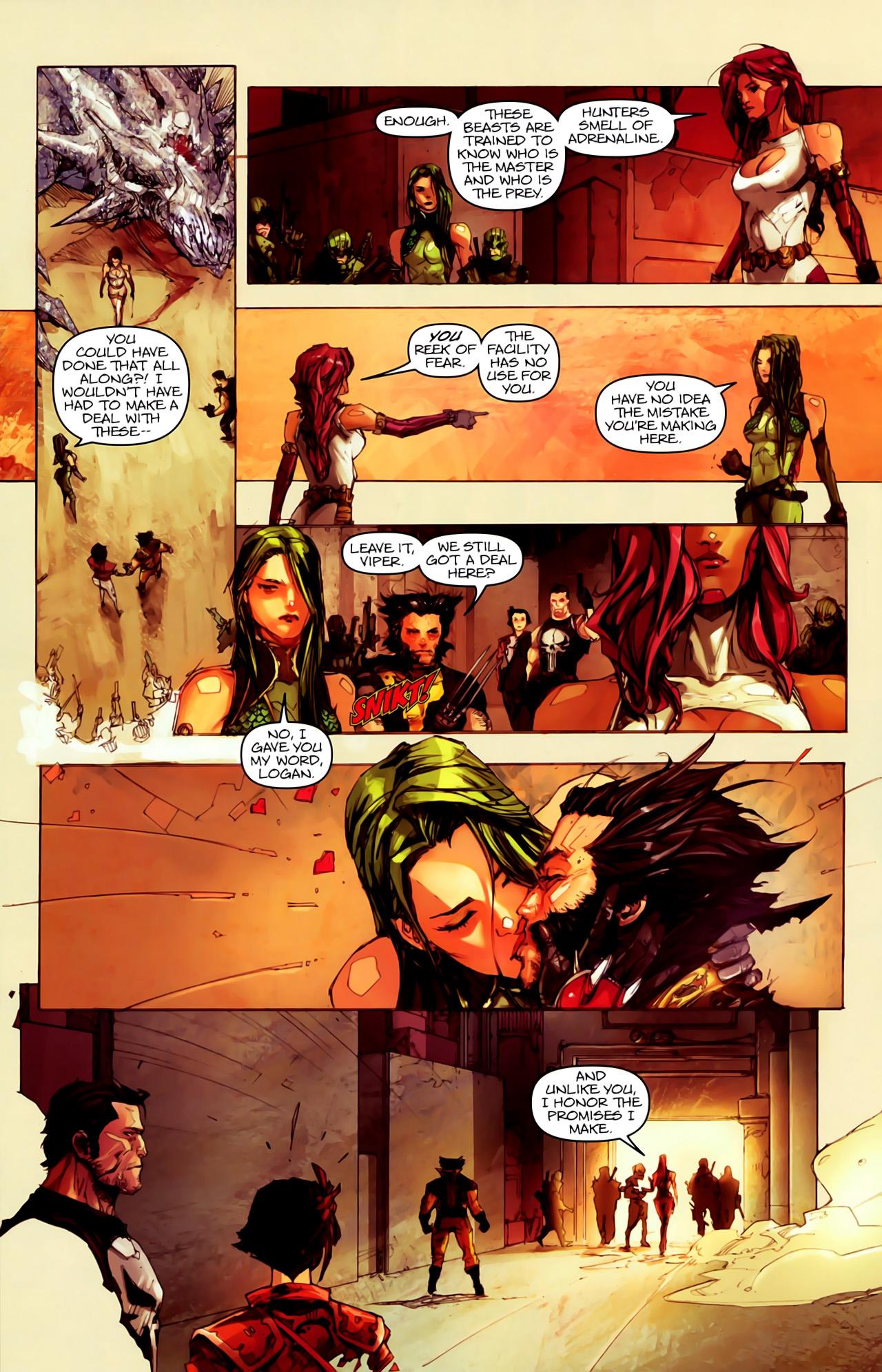 Read online Astonishing Tales (2009) comic -  Issue #6 - 8