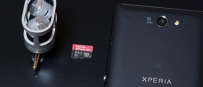 サンディスクmicroSDカード「Extreme PRO」はオススメ