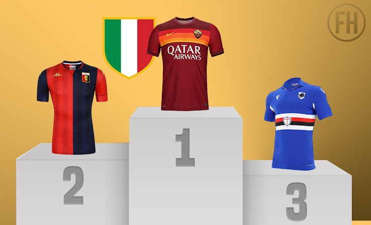 Best League In Terms Of Kits Ranking All 20 21 Serie A Home Kits Footy Headlines