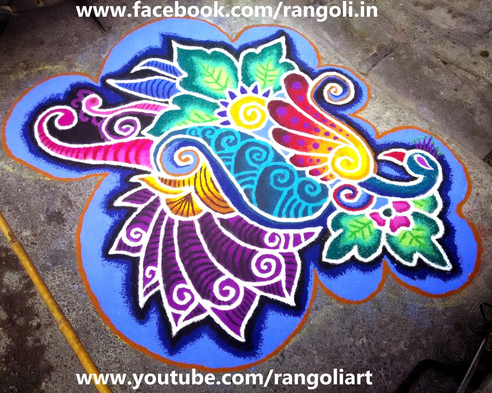 Happy Diwali Wallpaper 3d 2015 Diwali Rangoli Kolam Designs Images Peacock Rangoli