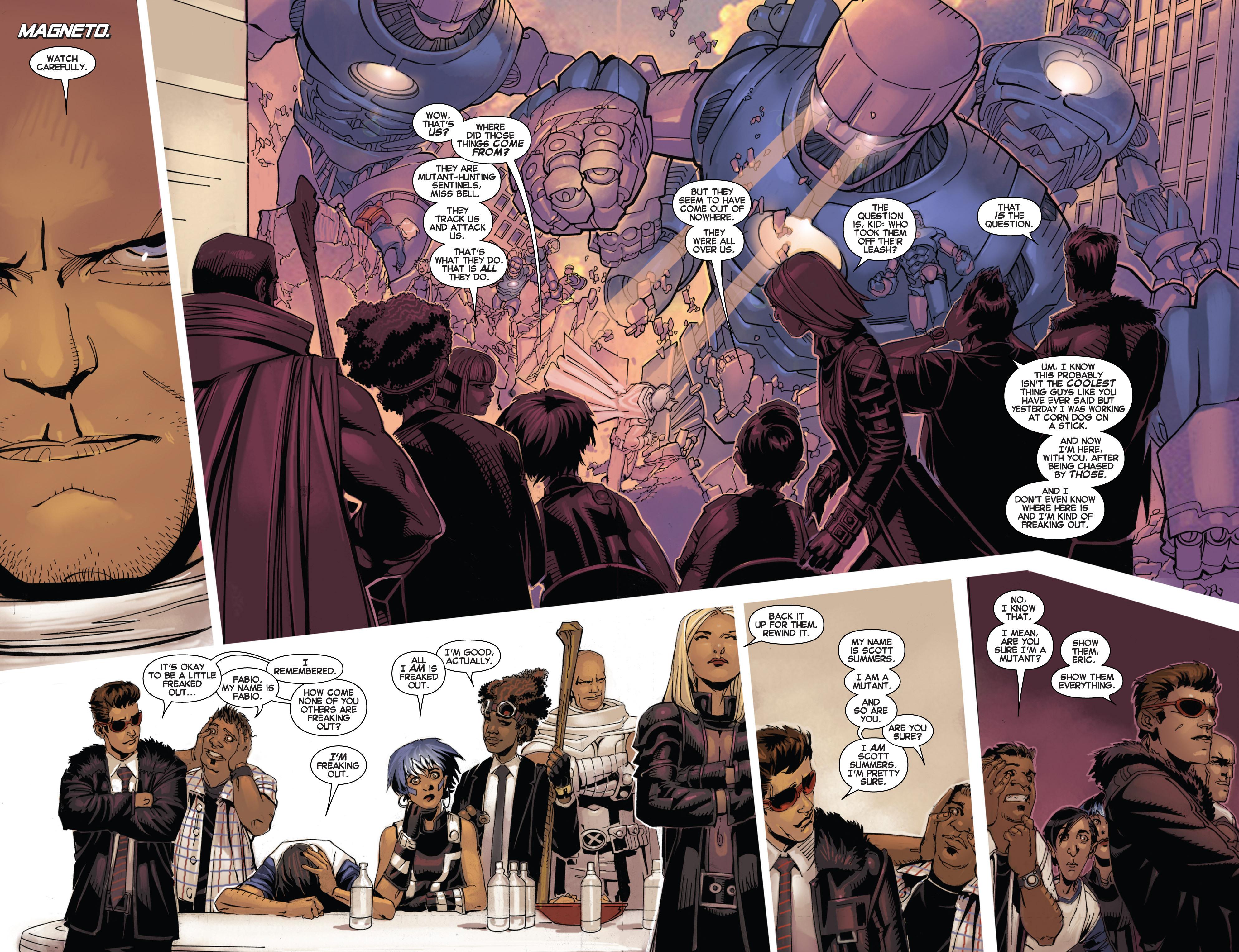 Read online Uncanny X-Men (2013) comic -  Issue #2 - 10