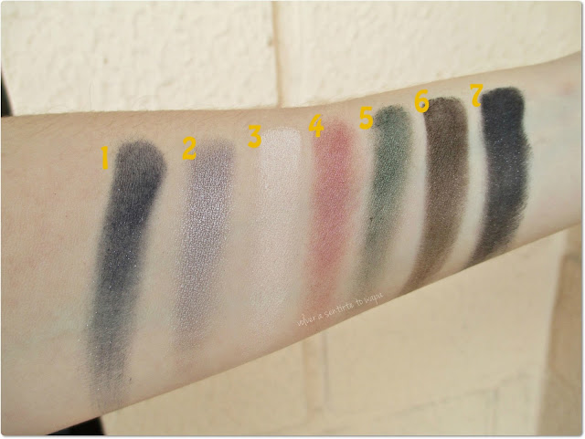 The Vamp, paleta de otoño de Marc Jacobs - Swatches