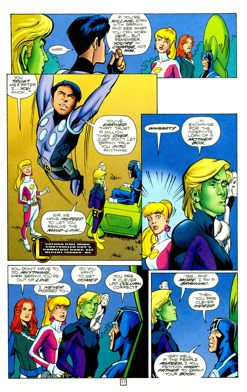 Legion of Super-Heroes (1989) 97 Page 10