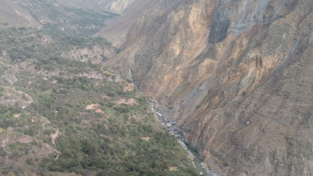 great shot of Colca Canyon scenery