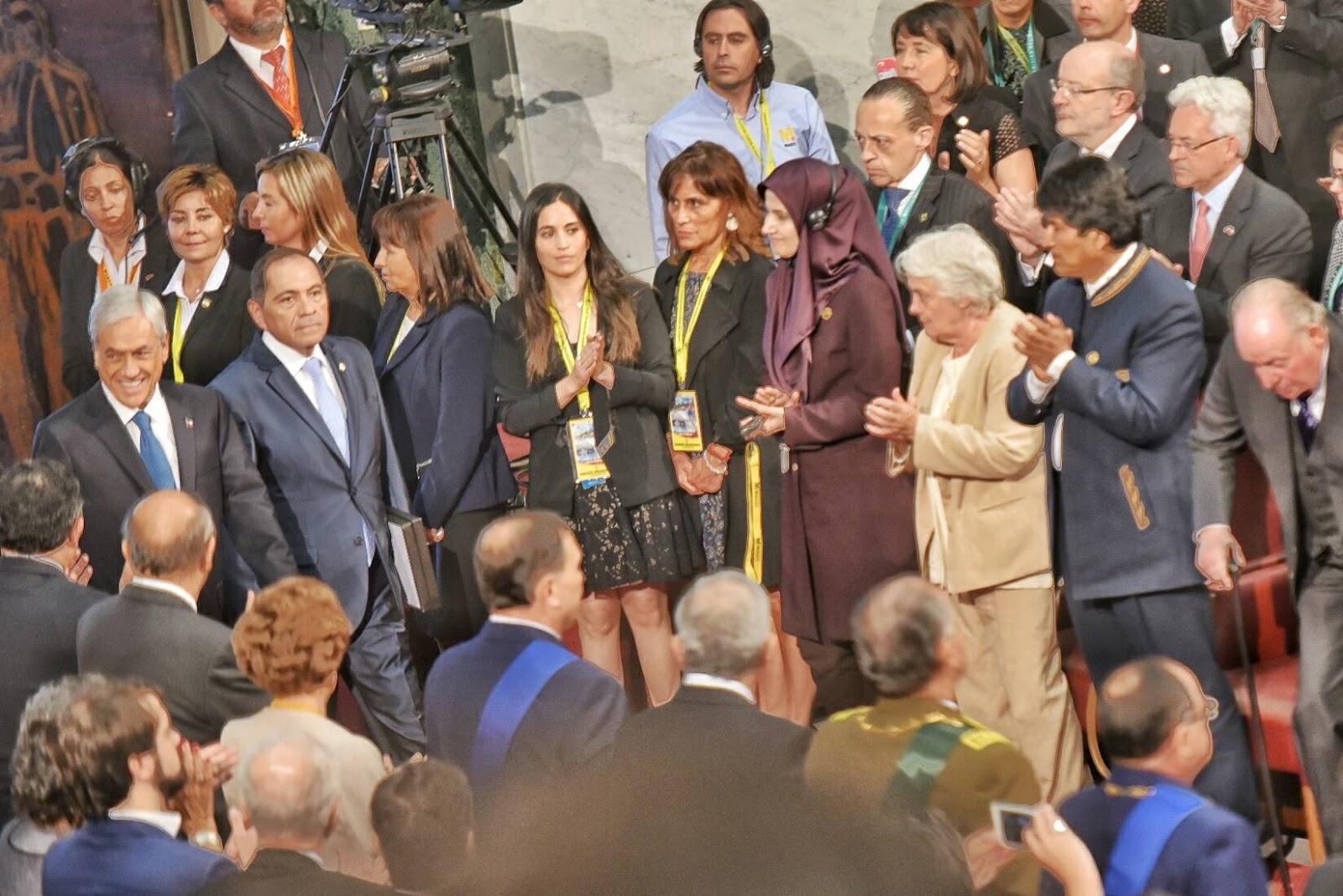 Piñera asumió su segundo mandato hasta 2022 e invitó a Morales a la posesión  / ABI