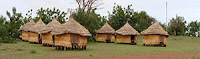 Глинени къщи от Буркина Фасо