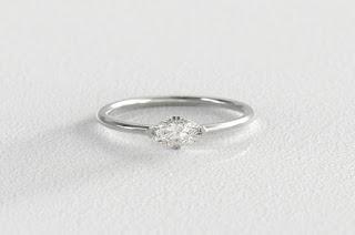 s kind co miinimalist diamond engagement ring