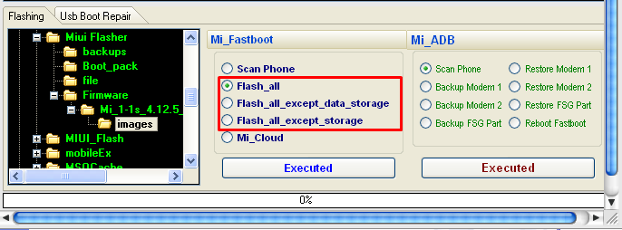 How Flash Xiaomi with MIUI Flasher Tool - Rom Develop