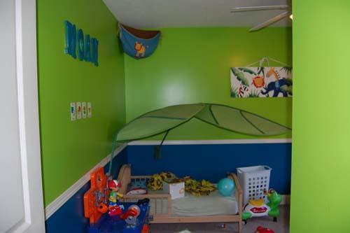 دهان غرف أطفال 2020 باللون الزتوني