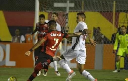 Vitória empata sem gols com o Fluminense no Barradão