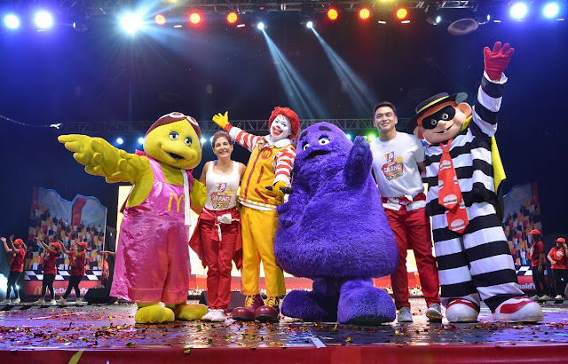 McDonald's Kiddie Crew Workshop Graduation