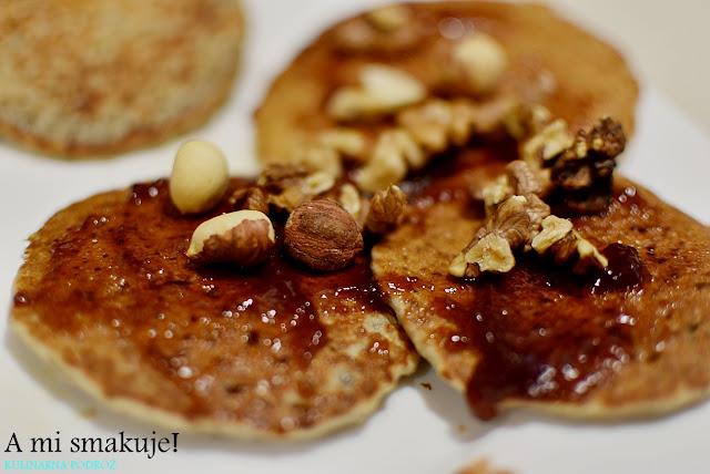 Placuszki z nasionami chia na słodko