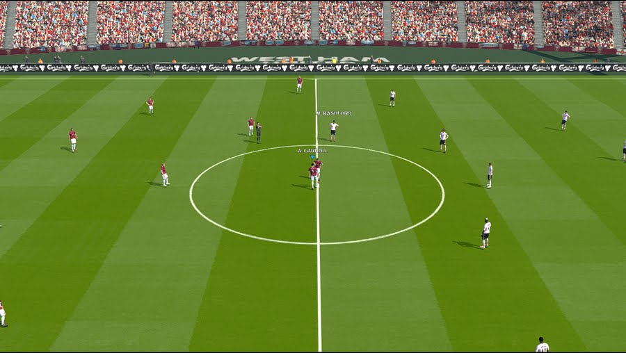 PES 2017 PITCH Config for EPL Stadium Server by DZL