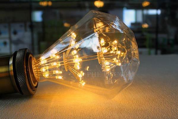 Bóng đèn led giả sợi đốt đẹp giá rẻ