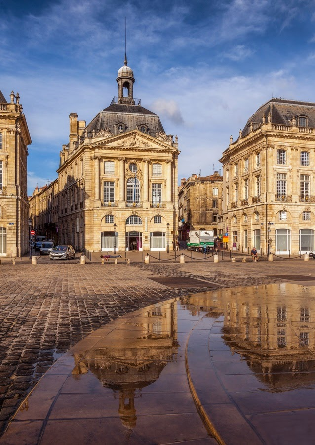 10 Hottest Summer Destinations In Europe | Square in Bordeaux, France