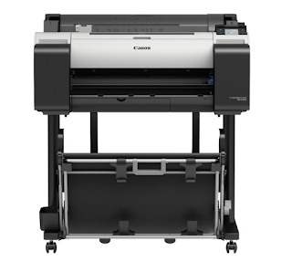 precise printing total alongside hitting hues Canon imagePROGRAF TM-5205 Drivers, Review And Price