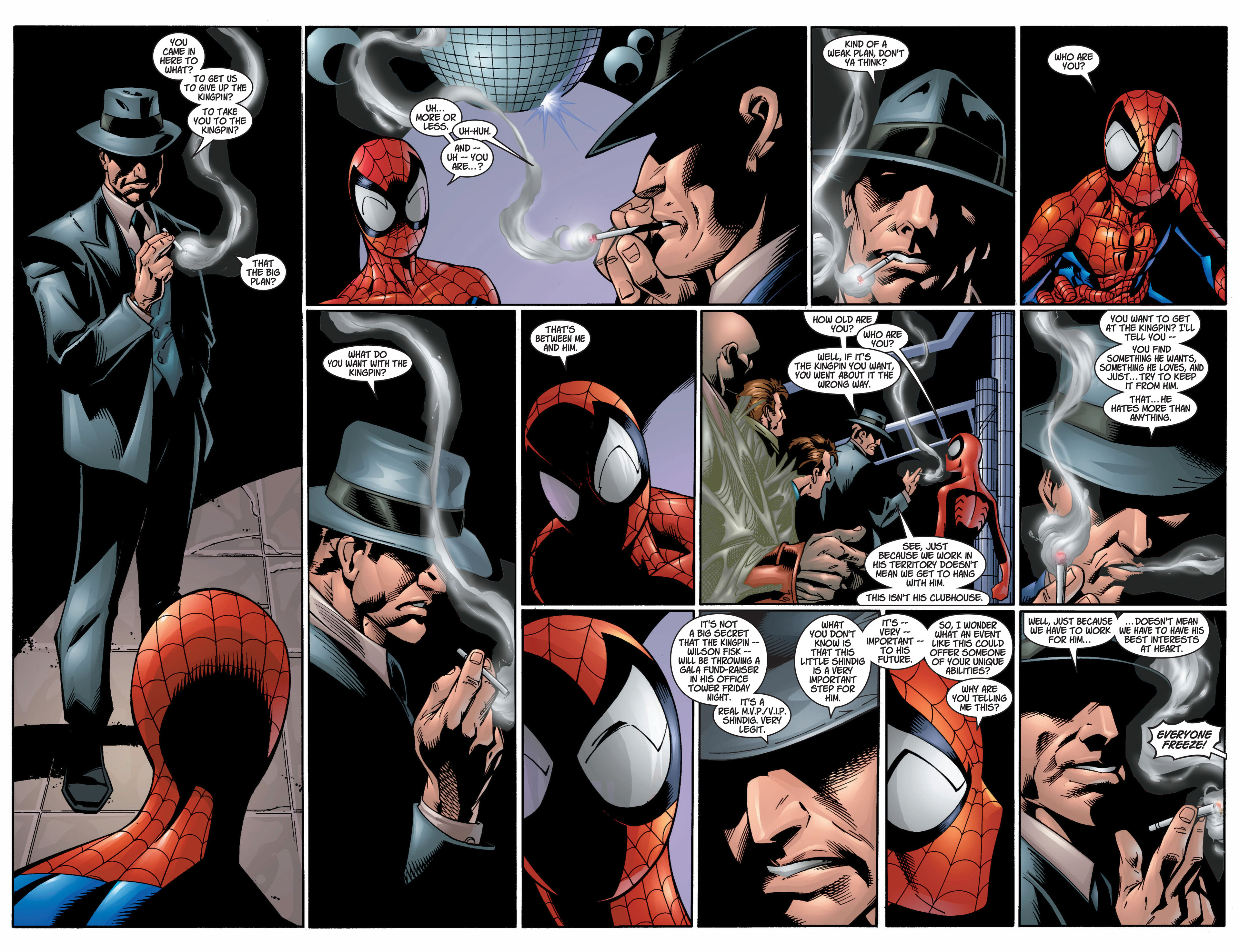 Read online Ultimate Spider-Man (2000) comic -  Issue #9 - 9