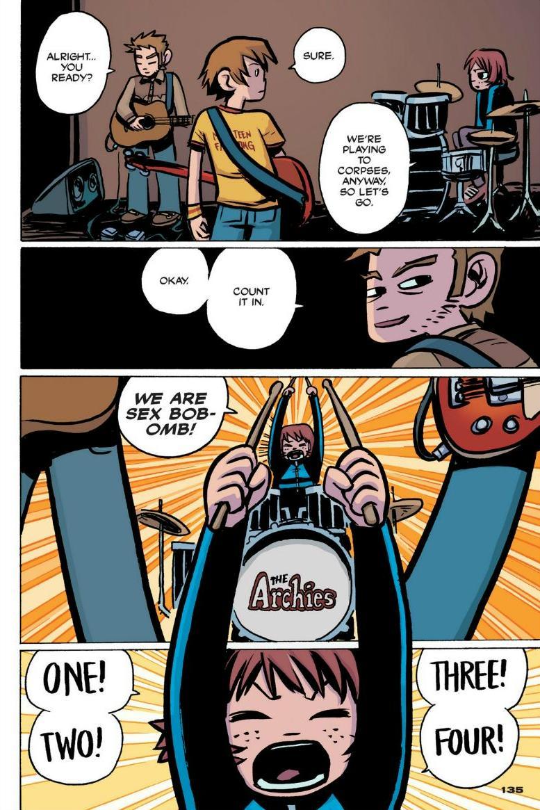 Read online Scott Pilgrim comic -  Issue #1 - 123