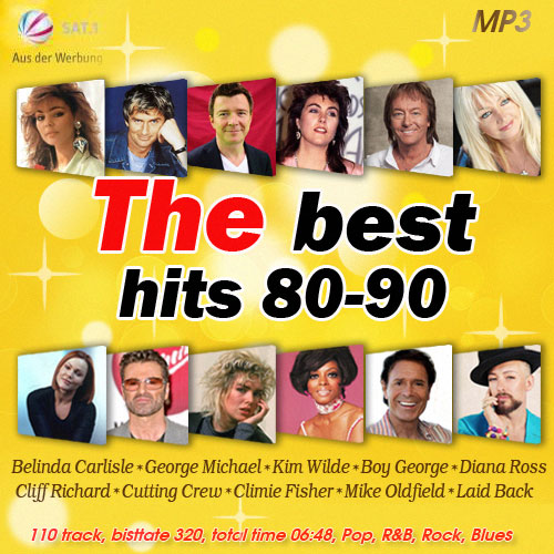 The Best Hits 80-90 2015