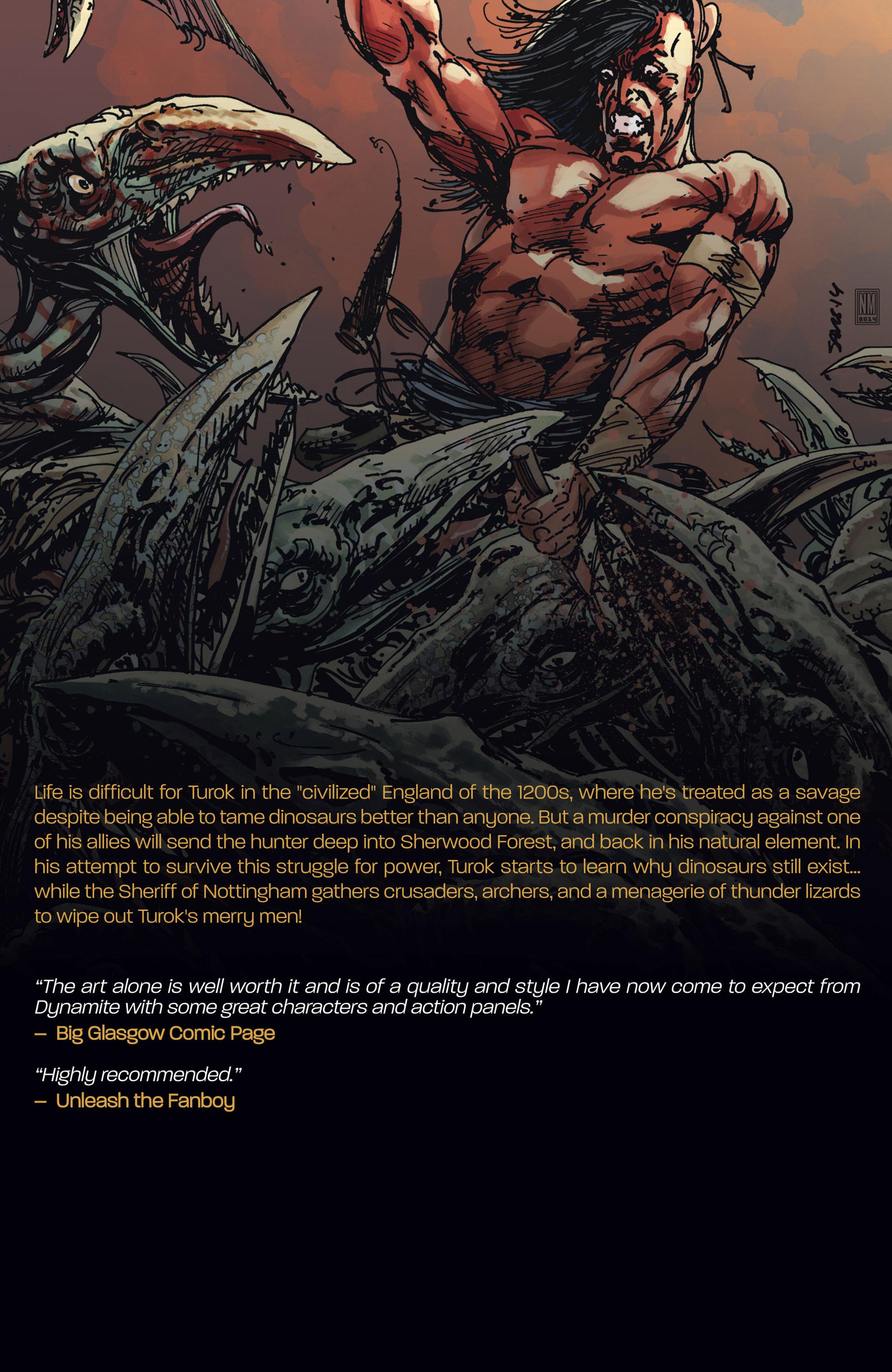 Read online Turok: Dinosaur Hunter (2014) comic -  Issue # _TPB 3 - 124