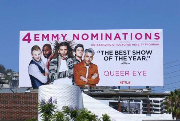 Queer Eye 4 Emmy nominations billboard