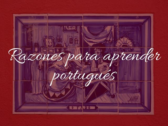 razones para aprender portugués