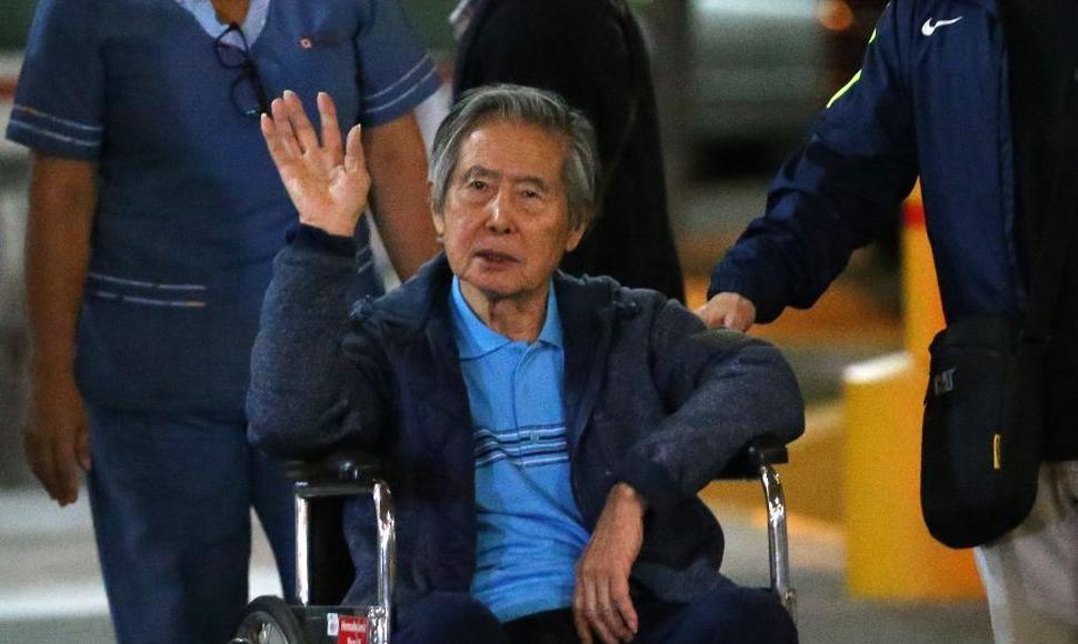 Expresidente peruano Alberto Fujimori fue hospitalizado