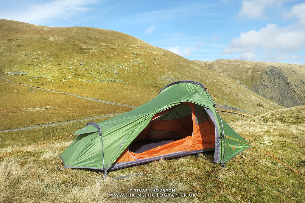 You can see the small porch here - where you can store boots stove and small backpacks & Gear Review: Vango Banshee 200 Tent u0026 Venom 300 Sleeping Bag | The ...
