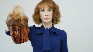 I went too far': Kathy Griffin apologizes for posting a video of Trump's 'severed head' on social media after Secret Service suggests she will be investigated for threatening the president