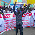 Protesters Condemns Continued Delay In The Swearing-In Of APC Lawmakers In Rivers