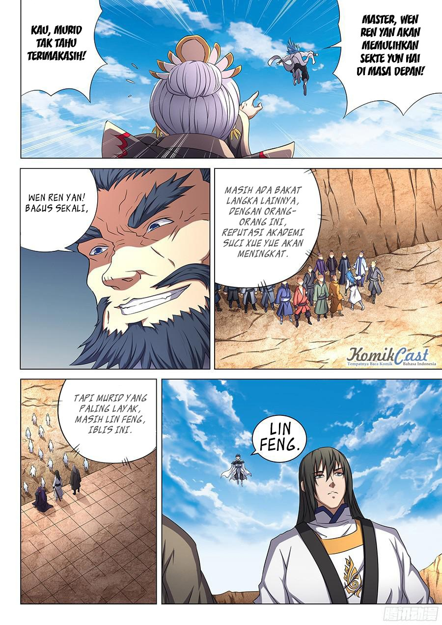 Baca Komik Manga God of Martial Arts Chapter 44.1 Komik Station