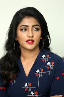 Actress Eesha Rebba Stills at Ragala 24 Gantallo Interview