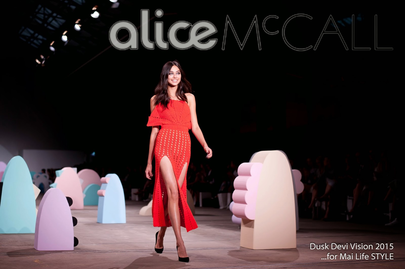 Alice McCall 'One Track Love' MBFWA 2015 | Dusk Devi Vision Photography | www.duskdevi.com