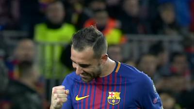 UEFA-Group-D-6 Barcelona 2 vs 0 Sporting Lisbon 05-12-2017