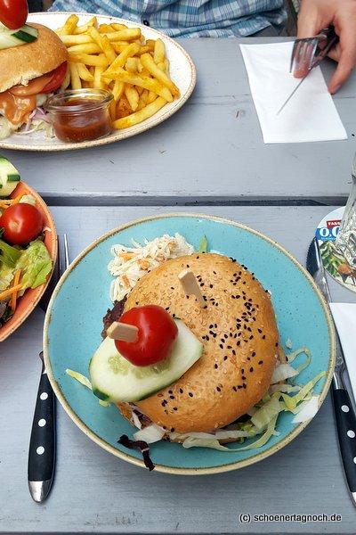 Burger im Bratar in Karlsruhe