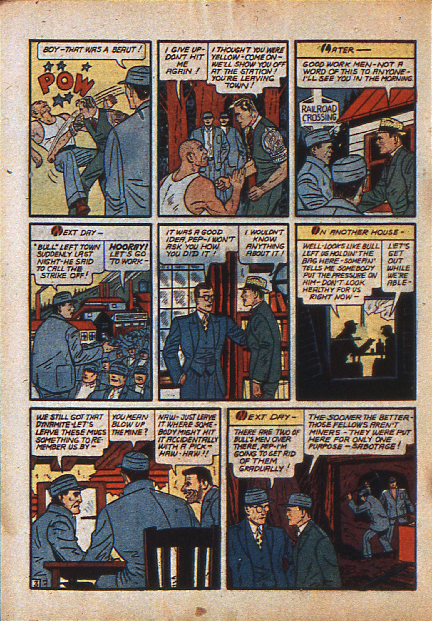 Read online Action Comics (1938) comic -  Issue #23 - 21
